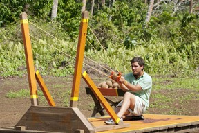 I would like to stick Colton in this catapult and send him far, far away.