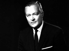 Hon. Jean Lesage, Prime Minister in Quebec during the 1960s and credited with sparking the province's Quiet Revolution.
