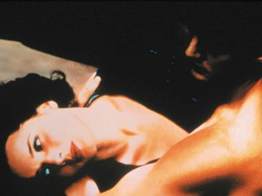 Isabella Rossellini and Kyle MacLachlan in David Lynch's Blue Velvet.