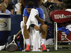 Roger Federer has now missed the quarter-finals at two consecutive majors, the 2013 U.S. Open and Wimbledon.