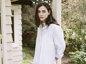 The Sleep Shirt, manufactured in Vancouver and Toronto by Canadian designer Alexandra Suhner Isenberg Credit: Sleep Shirt