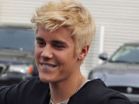 Justin Bieber S Gone Blond New Hairstyle Sees Pop Star Go Platinum In Search Of More Fun National Post