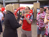 CityNews reporter Shauna Hunt called out Toronto FC fans after a man shouted a vulgar phrase into her microphone.