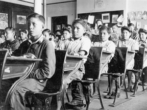 Residential schools were built across the country