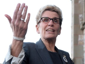 """The premier of Ontario says it would """"make a lot of sense"""" for the government-run liquor stores to sell marijuana if the federal Liberals make good on their promise to legalize pot."""