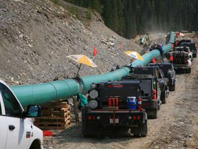 Handout/ Kinder Morgan