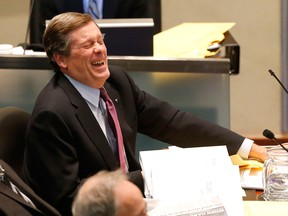 Mayor John Tory gets the joke: We charge commuters $2 to get to work from the suburbs, and pocket the cash