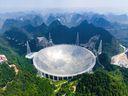 The telescope, which is in a majestic but impoverished part of Guizhou province, embodies China's plans to rise as a scientific power.