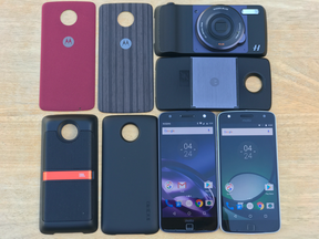 The Moto Z, Moto Z Play and full suite of Moto Mods accessories.