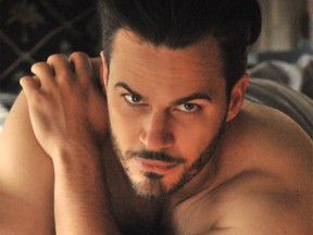 Malte Roesner from the Barihunks in Bed calendar for 2017.
