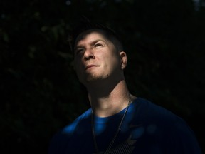 Cody Morin, a Canadian who suffers from Cannabinoid Hyperemesis, a condition which came to light after pot was legalized for medical/recreational use in some U.S. states.