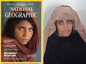 Sharbat Gulla, the young green-eyed girl featured on a 1985 National Geographic cover was arrested Wednesday in Peshawar, Pakistan