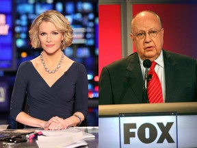 Megyn Kelly and Roger Ailes