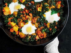 Everything goes into one pan for this easy supper dish.