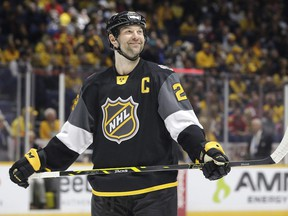 In a bit of fan-and-media-inspired mischief, John Scott quickly became the leading vote-getter through the league's website and although he was sheepish about it at first, he warmed up to the idea of playing in the All-Star Game right about the same time that the league became very cool to it.