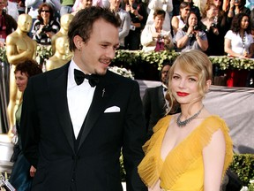 Ledger and Williams at the Oscars in 2006.