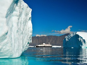 The Ocean Endeavor is a 1B ice class expedition vessel that holds a maximum of 198 passengers and 20 zodiacs. It isn't luxurious, but it is comfortable.