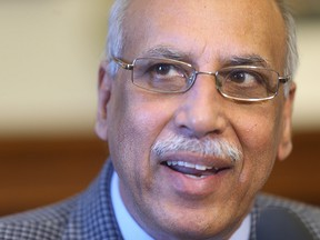 Mohinder Saran, a former Manitoba cabinet minister accused of sexual harassment has been kicked out of the NDP caucus. Caucus chair Tom Lindsey read a terse statement announcing that Saran no longer sits with the official Opposition.
