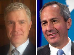 Neil Gorsuch of Denver and Thomas Hardiman of Pittsburgh