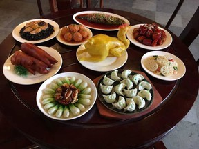 The bounty is presented on the family dinner table for New Year's Eve. Stephanie Yuen writes that it's the feast that every mom, grandma and home chef focuses on to take everyone into the new year happy and full.