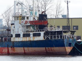 The MV Sun Sea is still sitting there almost 7 years since it came to Canada.