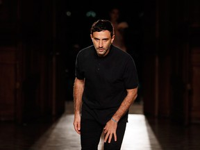 "Designer Riccardo Tisci said in the statement that he had ""very special affection for the House of Givenchy and its beautiful teams."