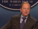 Melissa McCarthy satirized White House Press Secretary Sean Spicer in a hilarious skit on Saturday Night Live on February 4.