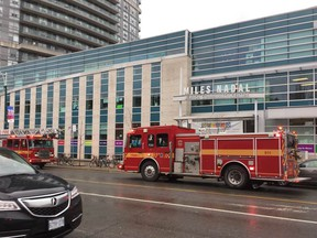 The Miles Nadal Jewish Community Centre in Toronto — which houses a daycare — was evacuated Tuesday following a bomb threat.