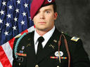 1st Lieutenant Weston C. Lee, 25, of Bluffton, Georgia, an 82nd Airborne Division Paratrooper who was killed Saturday during a patrol in Mosul, Iraq.