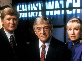 Mike Smith, Michael Parkinson, Sarah Greene.