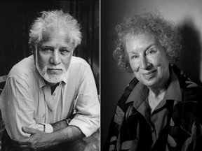Michael Ondaatje and Margaret Atwood.