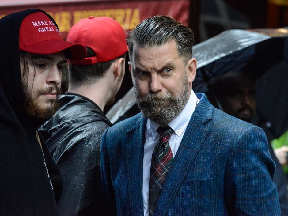 Canadian right-wing provocateur Gavin McInnes at forefront of street-fighting trend in U.S. political protest