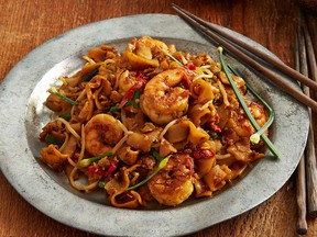 Penang's famous char kway teow