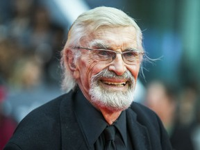 Martin Landau during the red carpet for the movie Remember  at Roy Thomson Hall at the Toronto International Film Festival in Toronto, Ont.  on Saturday September 12, 2015.