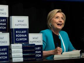 Hillary Clinton's new book, What Happened, was published on Tuesday to questionable raves and pans on Amazon.com.
