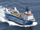 Clearwater Seafoods unveiled a new seafood processing ship — the Belle Carnell — in 2015.