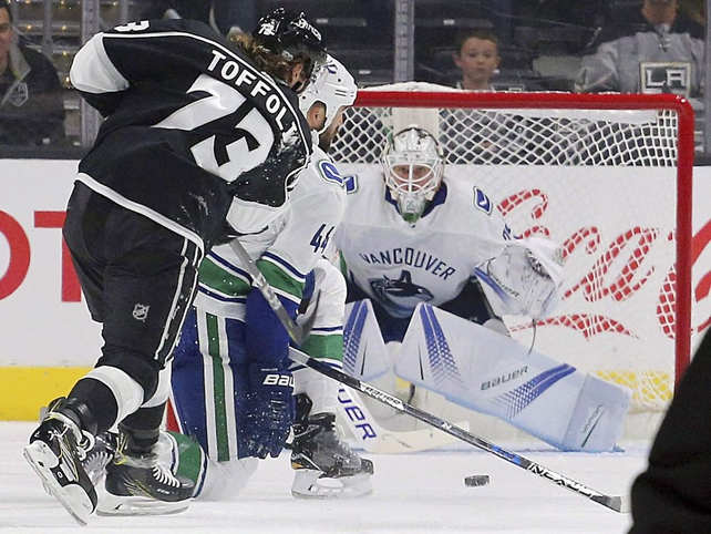 Kinder Gentler Jacob Markstrom Stares Down Pressure Of Starting In Goal For Vancouver Canucks National Post