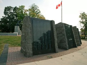 Confederation Square in Peterborough, Ont. seen on Friday, Aug. 31, 2012.