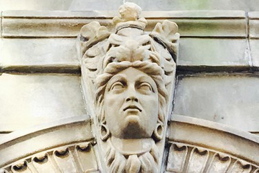 There are some great details on the buildings in Saint John.
