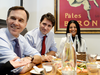 Bill Morneau and Justin Trudeau: a couple of regular, middle class guys out for pizza and some tax talk.