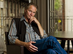 """FILE - In this Sept. 29, 2011 file photo, actor and author Sam Shepard poses for a portrait in New York. Alfred A. Knopf announced Wednesday, Oct. 18, 2017, that """"Spy of the First Person,"""" a novel Shepard completed shortly before his death, will be released Dec. 5.  (AP Photo/Charles Sykes, File)"""