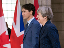 After their September meeting in Ottawa, Justin Trudeau and British Prime Minister Theresa May were optimistic the Canada-EU free trade deal, CETA, could morph into a bilateral agreement post-Brexit.