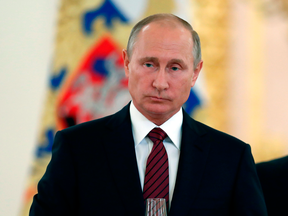 Russian President Vladimir Putin. The Magnitsky Act's proponents say it isn't targeted specifically at Russia, but former justice minister Irwin Cotler says the Russians are implicating themselves.