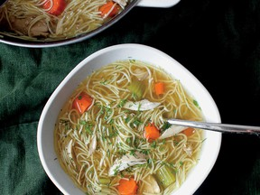 Grandma-Style Chicken Noodle Soup from Smitten Kitchen Every Day.