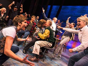 """The cast of """"Come From Away,"""" are shown in a 2016 handout photo. The Canadian theatrical production THE CANADIAN PRESS/HO-Matthew Murphy"""