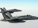 As an interim measure, the Liberal government says it will upgrade Canada's aging fleet of CF-18 Hornets with 18 equally aging Australian F-18 Hornets.