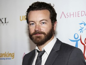 """FILE - In this March 24, 2014 file photo, actor Danny Masterson arrives at the Youth for Human Rights International Celebrity Benefit in Los Angeles. Netflix says it has written Masterson out of the comedy """"The Ranch"""" with Los Angeles police investigating sexual assault claims against him that date back to the 2000s. He has denied the allegations by three women that they were assaulted by him."""