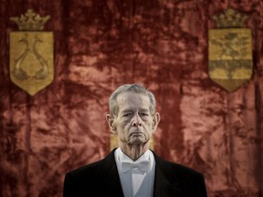 Romania's royal house says former King Michael, who ruled Romania during the Second World War, died, Tuesday, Dec. 5, 2017, in Switzerland aged 96.