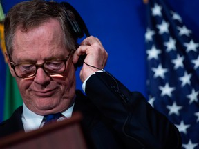 United States Trade Representative Robert Lighthizer says Canada's claims are unfounded in a harshly worded response Wednesday.