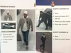 Left: A person of interest in the murder of Angelo Musitano in Hamilton last May. Right: Suspects in the killing of Mila Barberi in Vaughan last March.